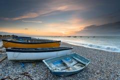Selsey strand i Sussex arkivfoto