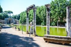 Seltene Ansicht der römischen Archäologie von canopo Stockfoto