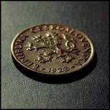 Seltene fünf Kronen Stockfoto