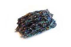 Seltener Mineralstein Silikon-Karbid Moissanite lokalisierte stockfotos