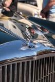 Seltenes blaues Continental Flying Spur 1962 Bentleys S2 an der 32. j?hrlichen Neapel-Depot-Oldtimer-Show stockfotos