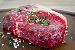 Seltenes Steak imagen de archivo libre de regalías