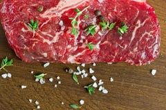 Seltenes Steak foto de archivo