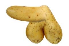 Seltsame Kartoffel Stockfotografie