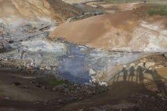 Seltun geothermal area in Reykjanes Stock Photo