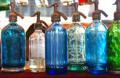 Seltzer Bottles Royalty Free Stock Images