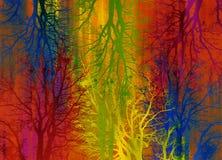 Selva abstrata Imagem de Stock Royalty Free