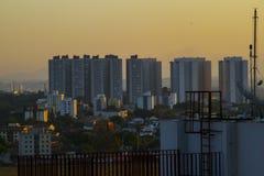 A selva concreta brasileira do Sao Jose Dos Campos imagens de stock