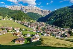 Selva di Val Gardena, alpi italiane Fotografia Stock Libera da Diritti