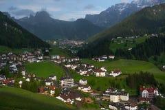 Selva di Val Gardena, Bolzano, Italia Fotografía de archivo libre de regalías
