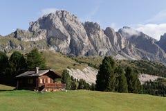 Selva-Di Val Gardena - Dolomit Lizenzfreie Stockbilder