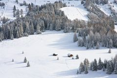 Selva di Val Gardena, Italy Royalty Free Stock Photo