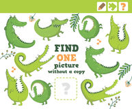 selva Educación que cuenta el juego para los niños ilustración del vector