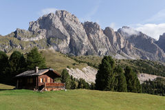 Selva het Val Gardena van Di - Dolomiet Royalty-vrije Stock Afbeeldingen