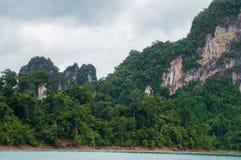 Selva luxúria dentro de Khao Sok National Park Fotos de Stock