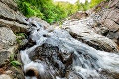 Selva tropical tropical de la cascada de Huai yang en parque nacional fotografía de archivo