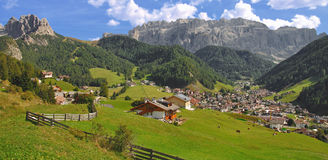 Selva,Wolkenstein,South Tyrol,Dolomites Stock Images