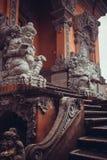 Selva y arquitectura del Balinese Fotografía de archivo