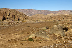 Selvagem deserto-como a paisagem no Richtersveld Foto de Stock Royalty Free