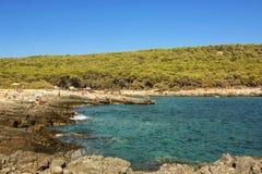 Selvaggio di Oporto - Puglia, Italia Fotografie Stock Libere da Diritti