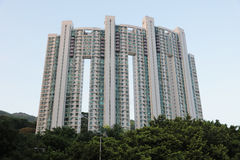 Selvas concretas de Hong Kong Imagens de Stock Royalty Free