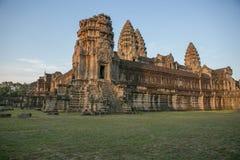 Selvas de los templos de Combodia imagen de archivo