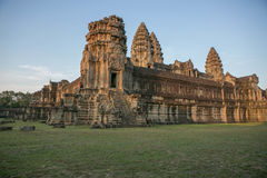 Selvas dos templos de Combodia imagem de stock
