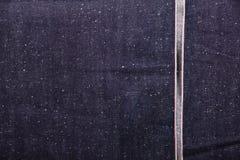 selvedge τζιν backgroud Στοκ Εικόνες
