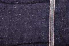 selvedge τζιν backgroud Στοκ φωτογραφίες με δικαίωμα ελεύθερης χρήσης