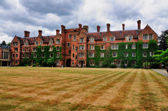 Selwyn College, Cambridge stock images