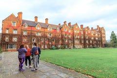Selwyn College ha stabilito nel 1882 immagini stock libere da diritti