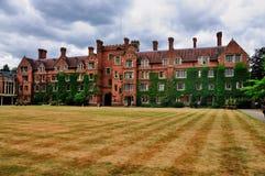 Selwyn Hochschule, Cambridge Stockbilder