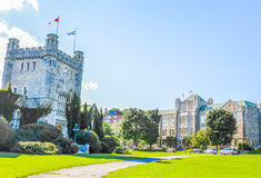 Selwyn House School and Westmount City Hall Royalty Free Stock Photos