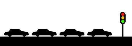 Semáforo ilustración del vector