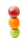 Semáforo de frutas Foto de archivo libre de regalías