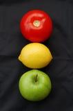 Semáforo de la fruta imagen de archivo libre de regalías