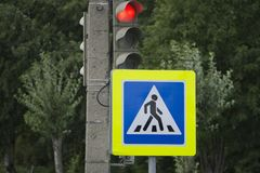 Semáforos con la luz verde encendida foto de archivo