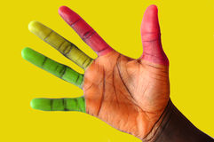 Semáforos Fingers#2 Foto de archivo