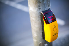 Semáforos peatonales Imagen de archivo libre de regalías