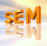 SEM Royalty Free Stock Photo