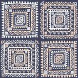 Sem emenda étnico do vintage tribal Imagem de Stock Royalty Free