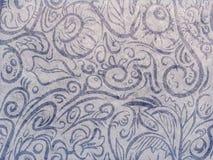 Sem emenda caótico no azul Foto de Stock