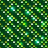 Sem emenda com estrelas brilhantes Fotografia de Stock