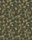 Sem emenda da camuflagem digital Imagem de Stock