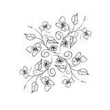 Sem emenda floral Imagens de Stock Royalty Free