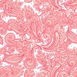 sem emenda floral bonito Fotos de Stock Royalty Free