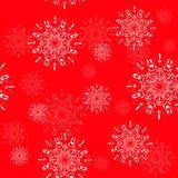Sem emenda um tema do Natal Fotos de Stock