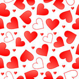 Sem emenda Valentim Foto de Stock