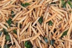 Sem-fim branco fritado com ervas Imagem de Stock Royalty Free