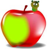 Sem-fim na maçã Foto de Stock Royalty Free
